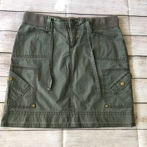 REVOLUTION Army Green Skirt Size 4